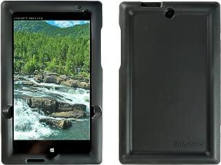 Bobj Rugged Case for HP Stream 7 - BobjGear Custom Fit - Patented Venting - Sound Amplification - BobjBounces Kid Friendly (Bold Black)