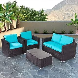 kinbor 5 pcs garden furniture