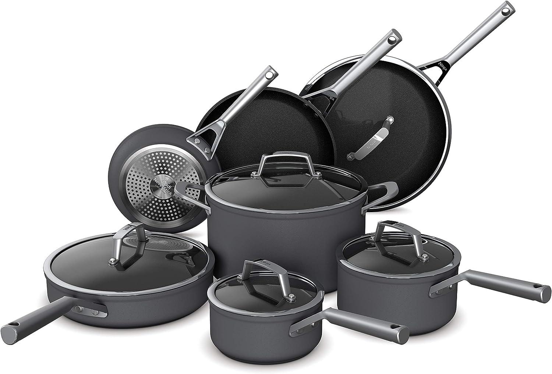 Ninja Foodi NeverStick Premium Hard-Anodized 12-Piece Cookware Set