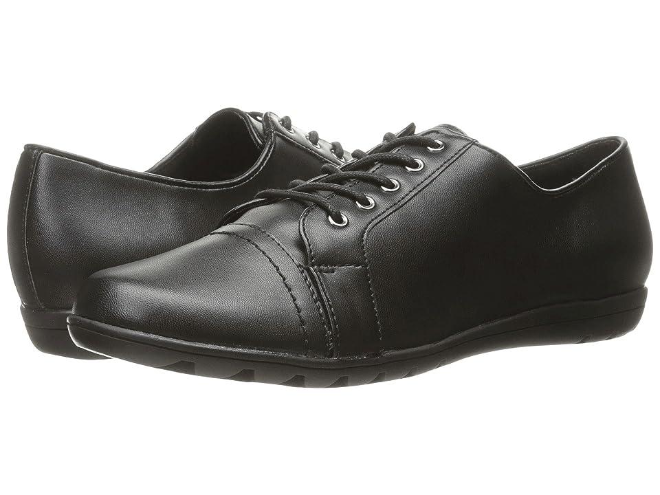 Soft Style Valda (Black Leather) Women