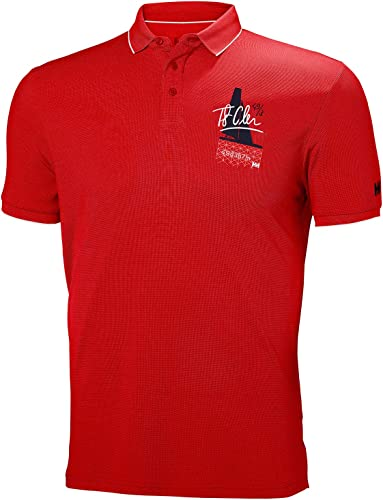 Helly Hansen HP Racing Polo - Flag rouge S