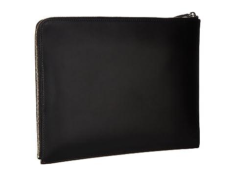 QUIERO Multi Negro Leather Cognac Sky Harbor Large Essentiels Portfolio Les aWqafTn4