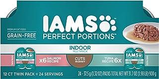 غذای گربه ای مرطوب و بسته های متنوع و متنوع دانه های سالم Iams