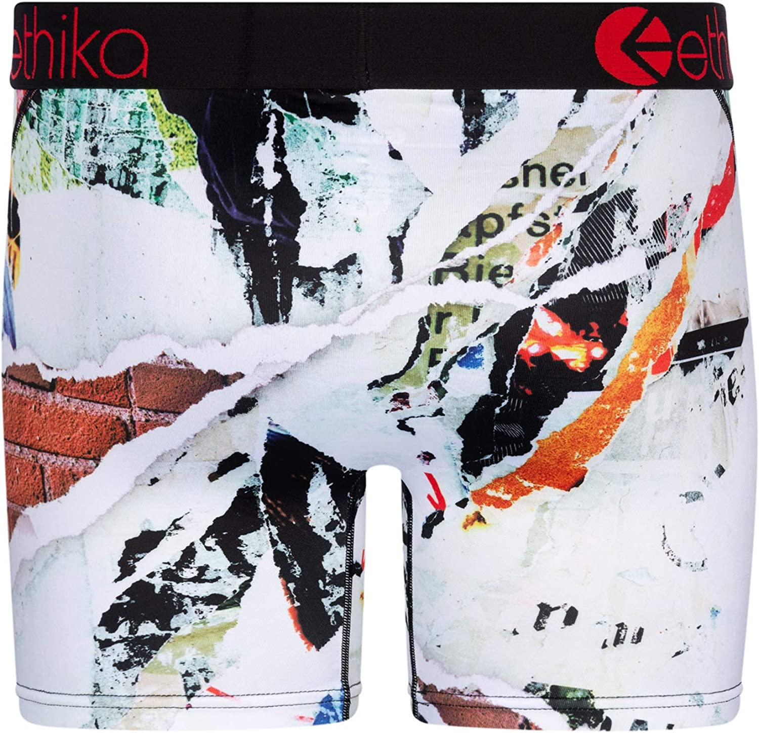 Ethika Mens Mid Boxer Briefs | Ripped!