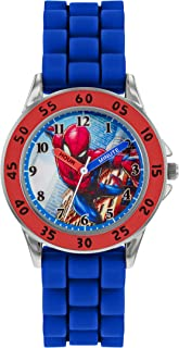 Spiderman Quartz Montre avec Bracelet en Silicone SPD9048