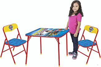 Nickelodeon Paw Patrol 3-Piece Kids Table & Chair Set Toy