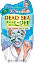 7th Heaven Dead Sea Easy Peel-Off Mask with Dead Sea Minerals, Seaweed and Vitamin E to Cleanse and Detoxify, Ideal for Normal and Oily Skin