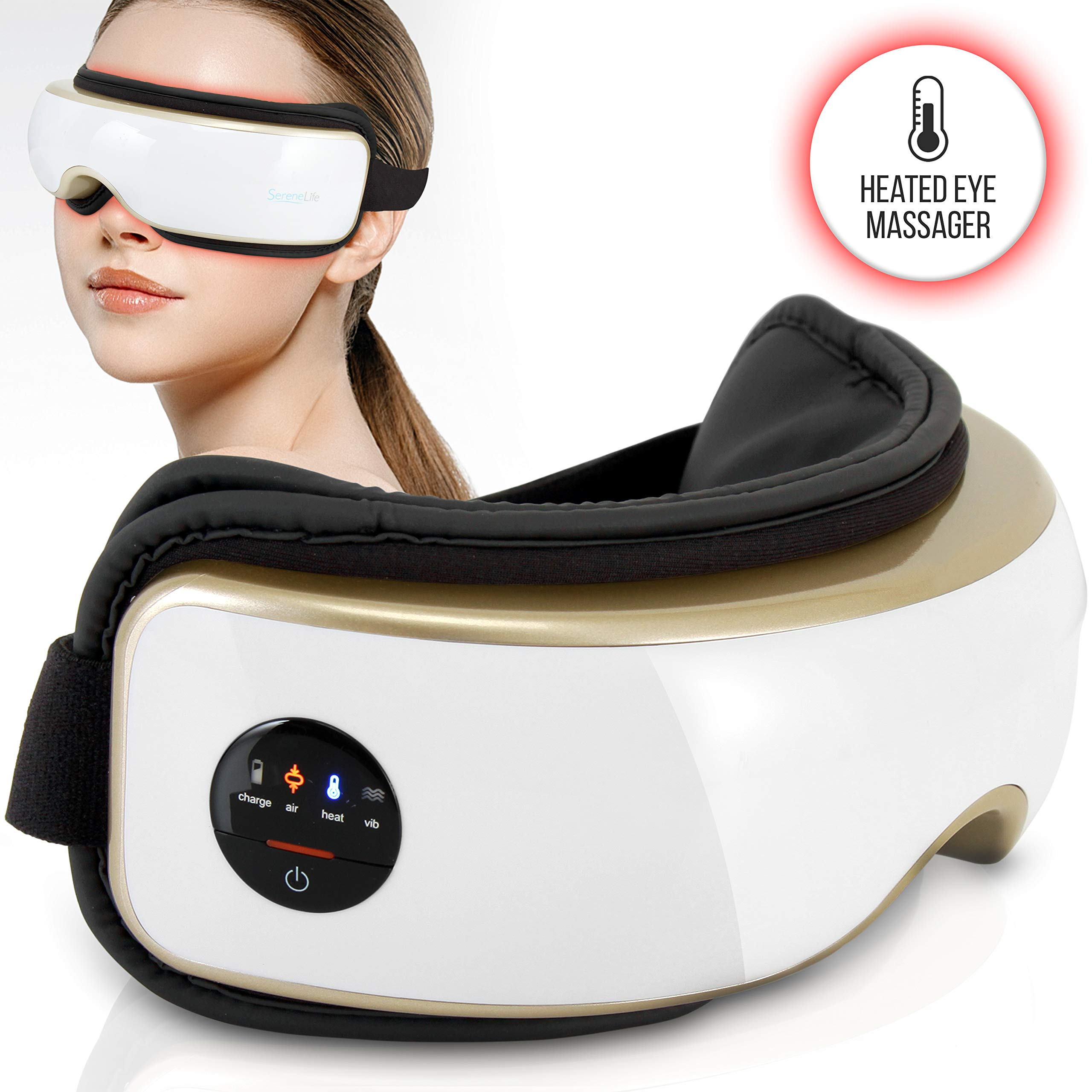 Heated Therapy Electric Massager Built