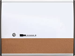 Quartet Combination Magnetic Whiteboard & Corkboard, 11