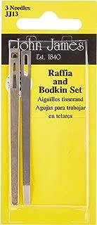 Colonial Needle Bodkin & Raffia Set-