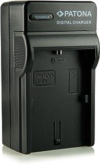 Patona - Cargador tipo LP-E6 con tres clavijas para cámara de fotos digital Canon EOS 5D Mark II/Mark II/EOS 7D/EOS 60D etc.
