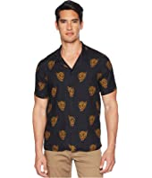 The Kooples - Desert Leopard Printed Short Sleeve Shirt