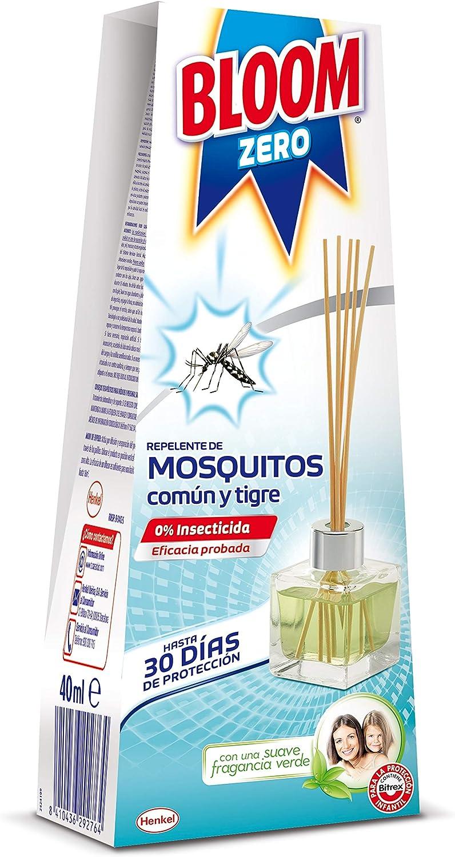 Bloom Zero Difusor Repelente de Mosquitos Común y Tigre - 40 ml