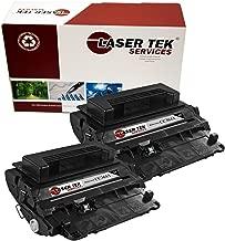 Laser Tek Services Compatible Toner Cartridge Replacements for HP CC364A (Black, 2-Pack)