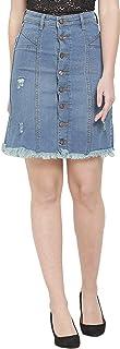 Denim Crafters Women's Buttoned Denim Skirt