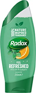 Radox Feel Refreshed Shower Gel Eucalyptus & Citrus Oil, 250 ml