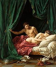 "Louis Jean Francois Lagrenee Mars & Venus, Allegory of Peace J. Paul Getty Museum - Los Angeles 24"" x 20"" Fine Art Giclee Canvas Print Reproduction (Unframed)"