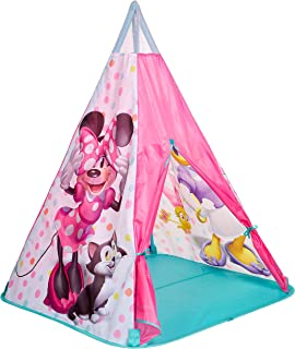 Moose Toys Minnie Mouse Teepee Play Tent Wigwam, Piece of 1