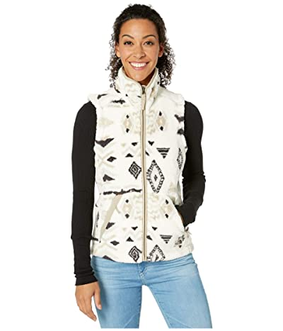 The North Face Campshire Vest 2.0 (Vintage White California Geo Print) Women