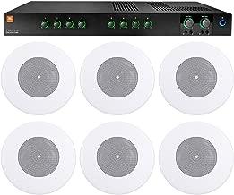 JBL CSMA240 Restaurant/Bar/Cafe 2x40w Amplifier 4/8ohm/70/100V+(6) 8