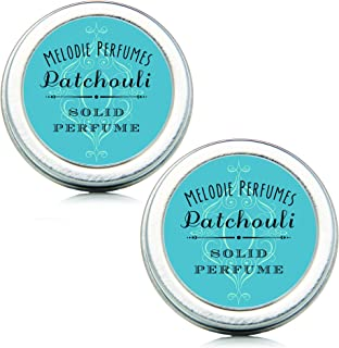 Melodie Perfumes Patchouli Essential Oil Perfume. Two Pack Vegan Natural Aromatherapy...