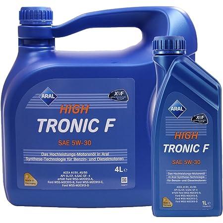 1 L 4 L 5 Liter Aral Hightronic F 5w 30 Motoröl Auto