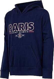 PARIS SAINT GERMAIN, Paris Saint-Germain: sudadera PSG, colección oficial del club de fútbol Paris Saint-Germain, talla infantil, Niño, azul, 14 años