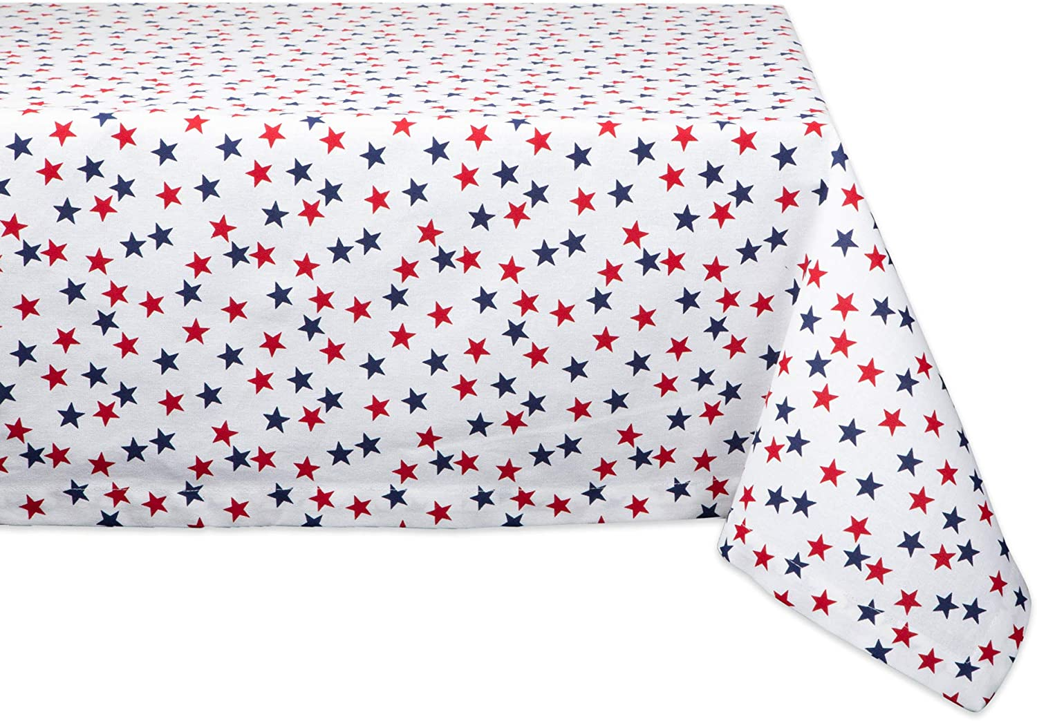 DII Americana Stars Collection Table Top, Tablecloth, 60x120