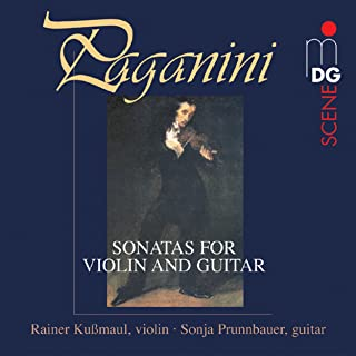 Große Sonate for Guitar Solo With Accompaniment of the Violin in A Major: II. Romanze