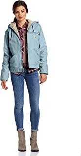 Carhartt Women's Sherpa Lined Sandstone Sierra Jacket (Regular and Plus Sizes)
