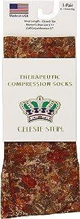 Celeste Stein Therapeutic Compression Socks, Toxic, 8-15 Mmhg, Mild