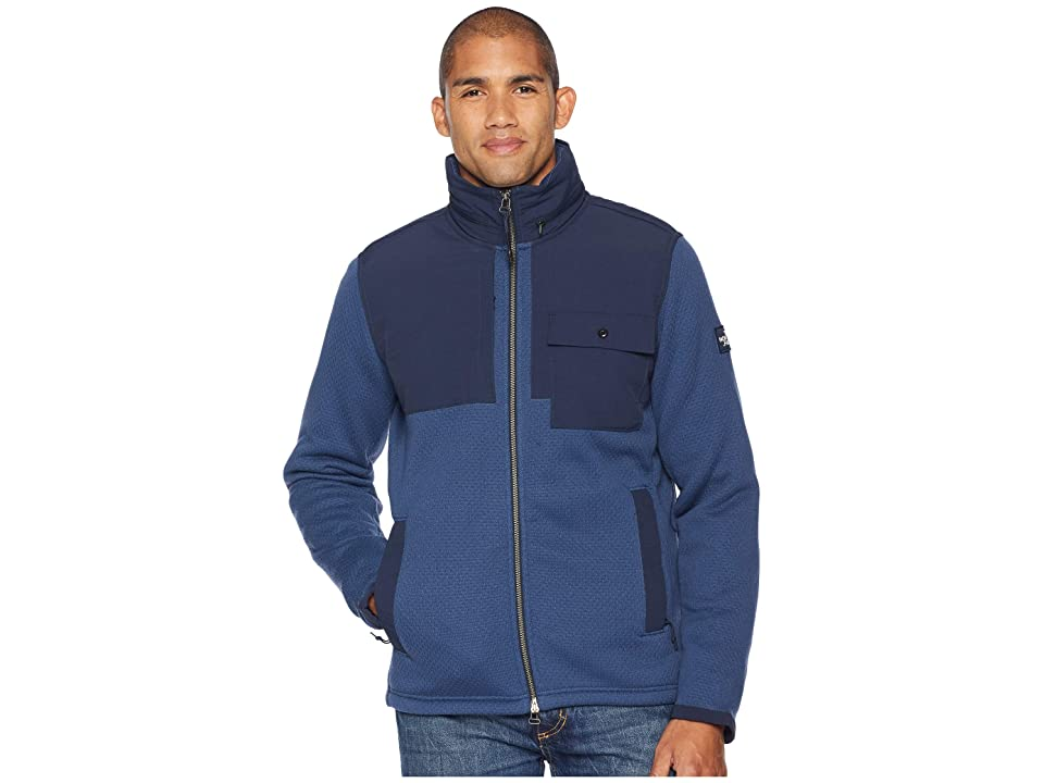 The North Face Be-Layed Back Full Zip Jacket (Shady Blue) Men