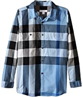Burberry Kids - Two-Pocket Check Shirt (Little Kids/Big Kids)