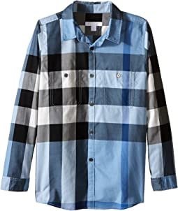 Burberry Kids - Two-Pocket Check Shirt (Little Kids/Big Kids)