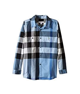 Two-Pocket Check Shirt (Little Kids/Big Kids)