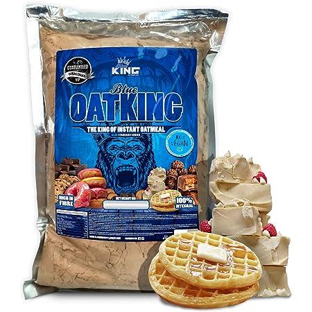 Harina de avena, Oatking, 1kg, OFERTA CUPON-5%!! Harina Integral, harina de sabor, ideal para tortitas, batidos, bizcochos y magdalenas, American ...
