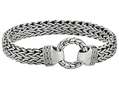 John Hardy Classic Chain 11mm Ring Clasp Bracelet (Silver) Bracelet