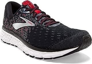Mens Glycerin 17 Running Shoe - Black/Ebony/Red - D - 11.0