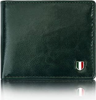 Giovanny`GVN-GRNCHNGR01 Green Genuine Leather Wallet for Men