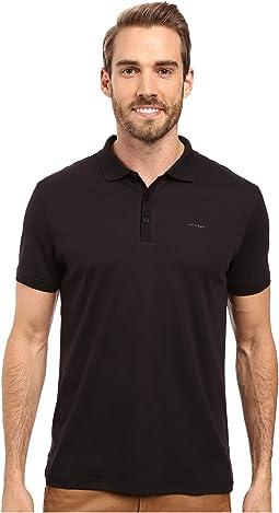 Calvin Klein - Liquid Cotton Solid Short Sleeve Polo
