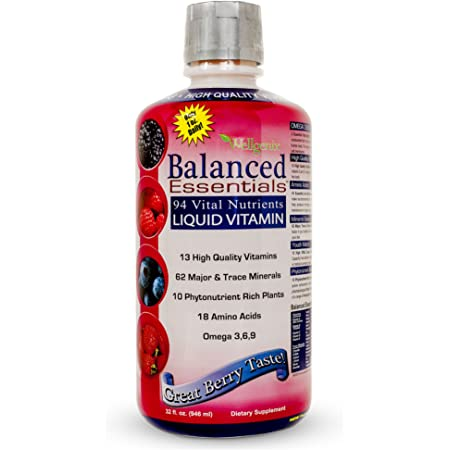 Balanced Essentials Liquid Minerals and Vitamins / Multivitamins, 1X32 oz