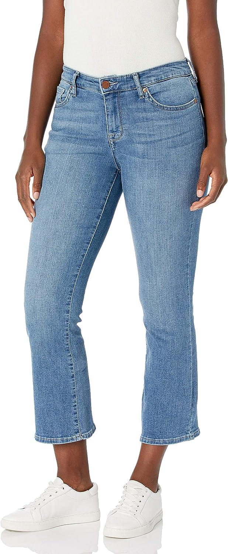 Award-winning store William Rast Milwaukee Mall Women's Misses Mid-Rise Boot Jean Cut Crop