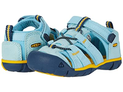 Keen Kids Seacamp II CNX (Toddler) (Petit Four/Keen Yellow) Kids Shoes