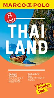 Thailand Marco Polo Pocket Travel Guide - with pull out map