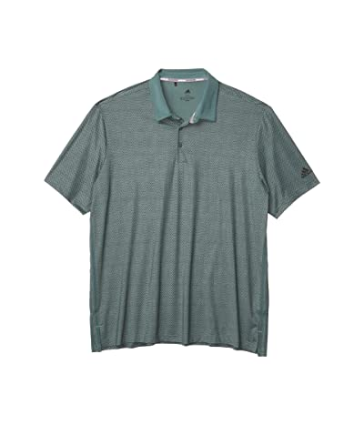 adidas Golf Ultimate365 Delivery Polo (Tech Emerald/Legend Earth) Men
