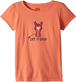 Life is Good Kids - Horse Love Crusher Tee (Little Kids/Big Kids)