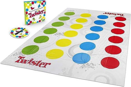 Hasbro Twister jeu un couleur