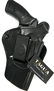 "Leather Paddle Holster Fits Ruger SP-101 357// 327 Federal Magnum 4.20/""BBL #1428#"