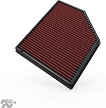 K&N engine air filter, washable and reusable: 2006-2016 Volvo (S60, V60, XC60, S60 II, S80, S80L, V70 II, V70 III, XC 70, XC 70 II) 33-2418