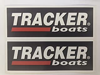 2 Tracker Boats Decals by SBDdecals.com